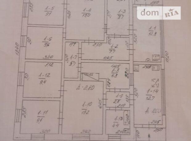 одноэтажный дом с садом, 126 кв. м, кирпич. Продажа в Белой Церкви район Ж-д посёлок фото 1