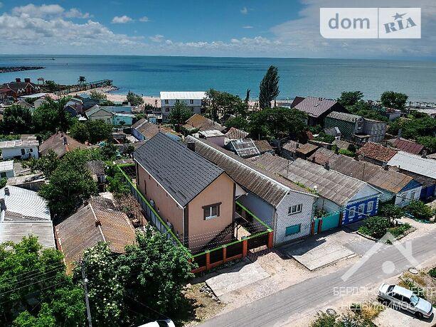 двухэтажный дом с балконом, 205.5 кв. м, газобетон. Продажа в Бердянске район Бердянск фото 1