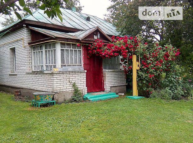 одноэтажный дом с садом, 63 кв. м, дерево и кирпич. Продажа в Кобижче (Черниговская обл.) фото 1