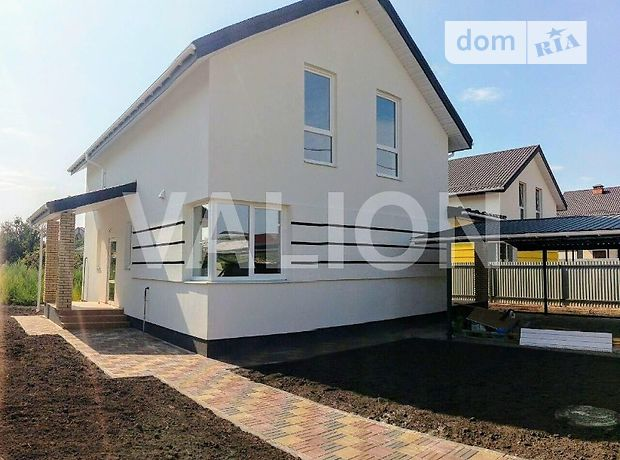 двухэтажный дом с садом, 135 кв. м, газобетон. Продажа в Борисполе район Борисполь фото 1