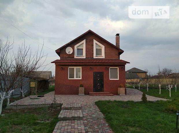 двухэтажный дом с садом, 250 кв. м, дерево и кирпич. Продажа в Бабинцам (Киевская обл.) фото 1