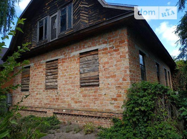 двухэтажный дом с подвалом, 130 кв. м, дерево и кирпич. Продажа в Борзне район Борзна фото 1