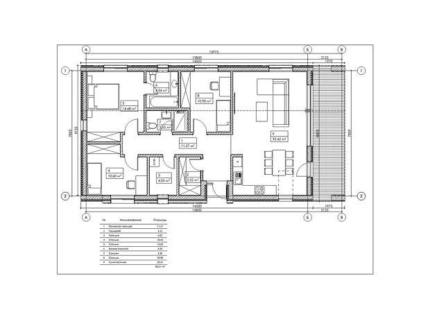 двухэтажный дом, 100 кв. м, керамический блок. Продажа в Красиловке (Киевская обл.) фото 1