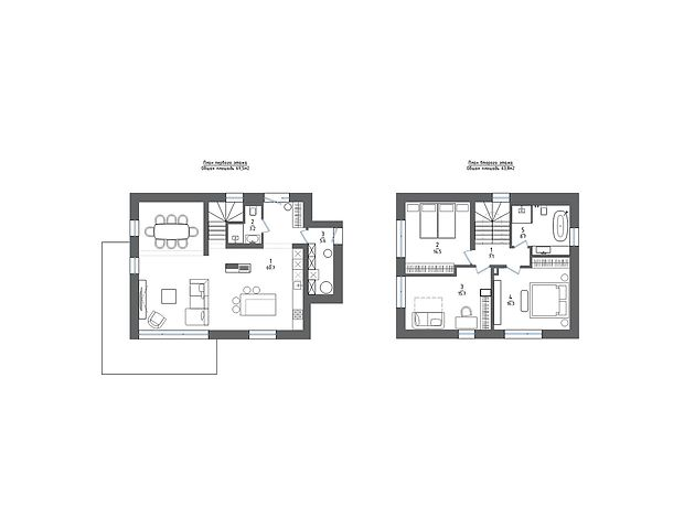 двухэтажный дом, 135 кв. м, керамический блок. Продажа в Красиловке (Киевская обл.) фото 1