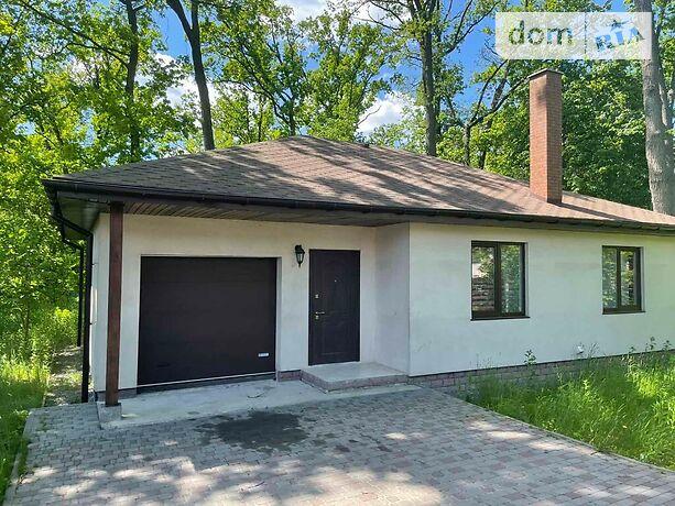одноэтажный дом с камином, 100 кв. м, дерево и кирпич. Продажа в Буче район Буча фото 1
