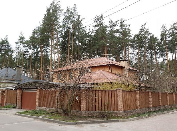 двухэтажный дом с камином, 308 кв. м, пеноблок. Продажа в Буче район Буча фото 1