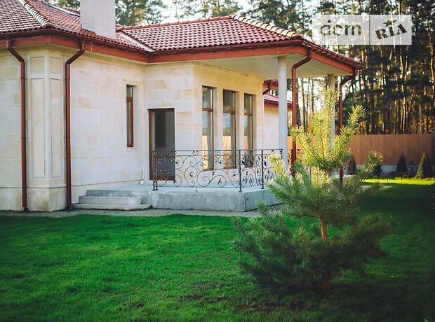 одноэтажный дом с камином, 200 кв. м, керамический блок. Продажа в Буче район Буча фото 1