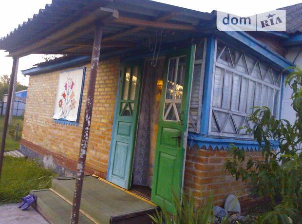 одноэтажный дом с садом, 62.9 кв. м, дерево и кирпич. Продажа в Байбузах (Черкасская обл.) фото 1