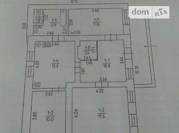 одноэтажный дом с ремонтом, 73 кв. м, кирпич. Продажа в Белозерье (Черкасская обл.) фото 1