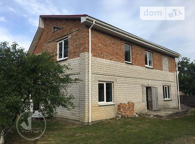двухэтажный дом с черновой отделкой, 198 кв. м, кирпич. Продажа в Хацьках (Черкасская обл.) фото 1