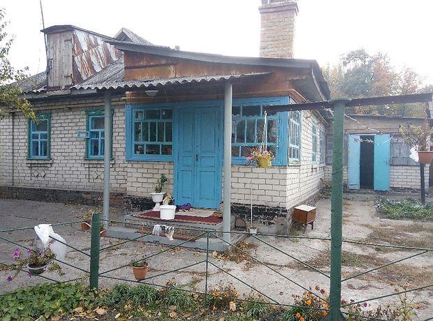 одноэтажный дом с садом, 82 кв. м, дерево и кирпич. Продажа в Черкассах район к-т Мир фото 1