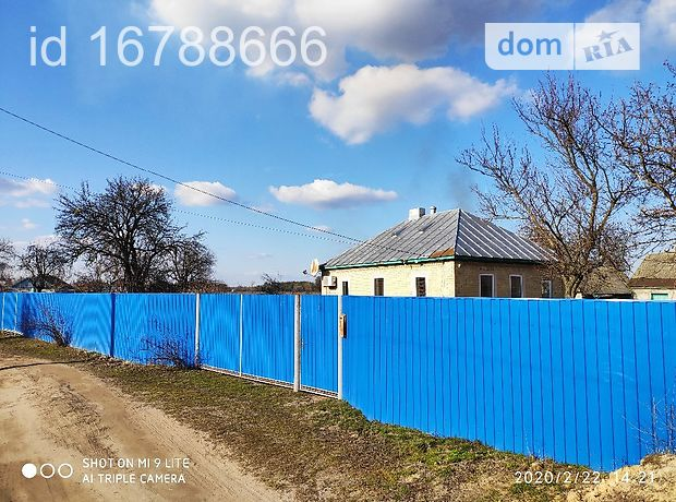 одноэтажный дом с садом, 67 кв. м, кирпич. Продажа в Мошнах (Черкасская обл.) фото 1