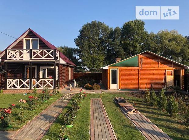 двухэтажный дом с камином, 77 кв. м, сруб. Продажа в Черкассах район Район Д фото 1