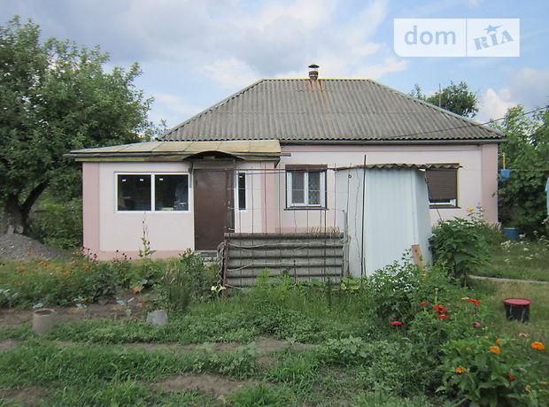 одноэтажный дом с садом, 55 кв. м, дерево и кирпич. Продажа в Хацьках (Черкасская обл.) фото 1