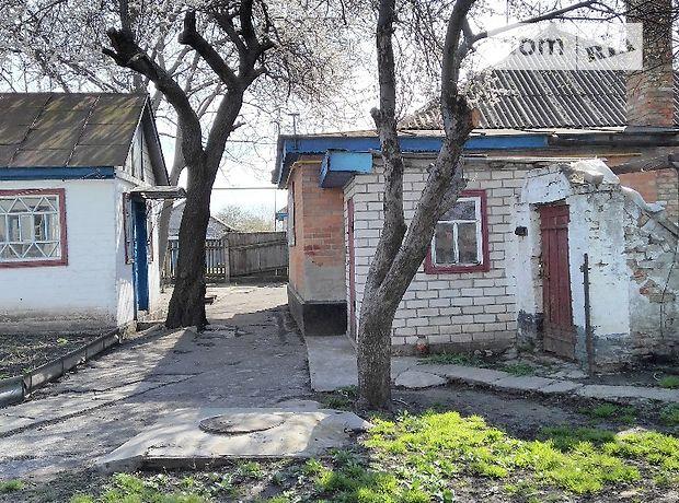 одноэтажный дом с садом, 65 кв. м, дерево и кирпич. Продажа в Сагуновке (Черкасская обл.) фото 1