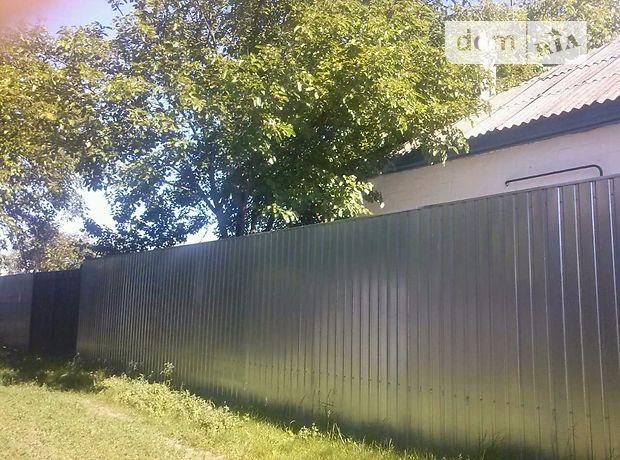 одноэтажный дом с садом, 62 кв. м, дерево и кирпич. Продажа в Анисове (Черниговская обл.) фото 1