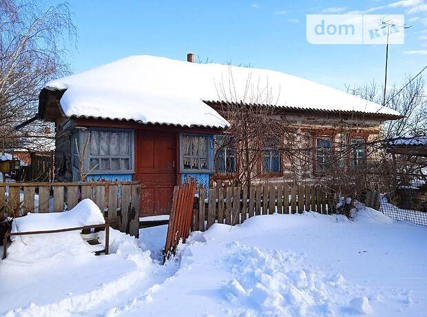 одноэтажный дом с садом, 62 кв. м, дерево и кирпич. Продажа в Слабином (Черниговская обл.) фото 1