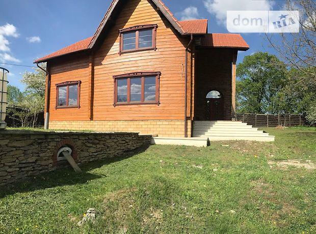 двухэтажный дом с садом, 266.3 кв. м, дерево и кирпич. Продажа в Черновцах фото 1