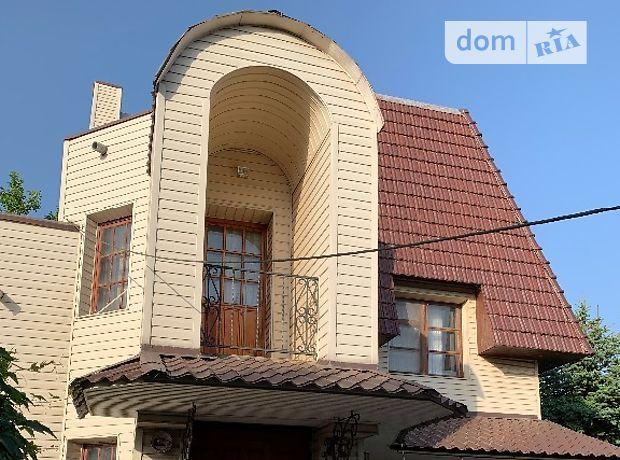 трехэтажный дом с террасой, 350 кв. м, кирпич. Продажа в Обуховке (Днепропетровская обл.) фото 1