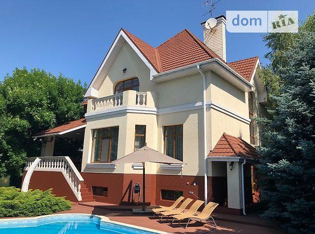 трехэтажный дом с камином, 350 кв. м, кирпич. Продажа в Днепропетровске район Амур-Нижнеднепровский фото 1