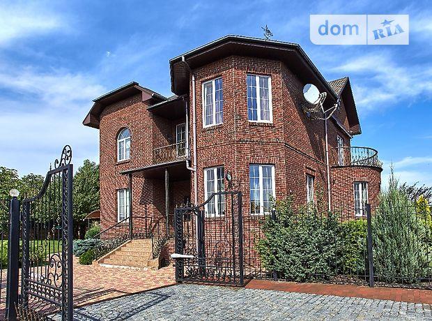 трехэтажный дом с камином, 418 кв. м, кирпич. Продажа в Новоалександровке (Днепропетровская обл.) фото 1