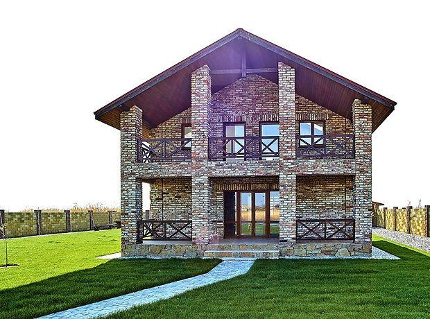 двухэтажный дом с террасой, 100 кв. м, пенобетон. Продажа в Новоселовке (Днепропетровская обл.) фото 1