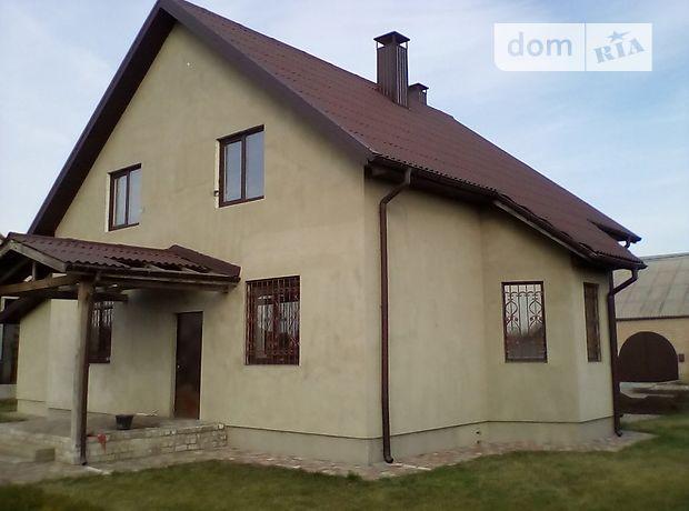 двухэтажный дом с камином, 190 кв. м, кирпич силикатный. Продажа в Подгородном (Днепропетровская обл.) фото 1