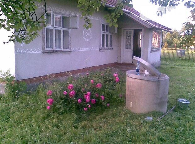 одноэтажный дом с садом, 63 кв. м, дерево и кирпич. Продажа в Залужанах (Львовская обл.) фото 1