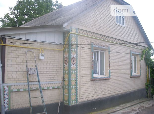 одноэтажный дом с камином, 100 кв. м, шлакобетон. Продажа в Гнивани фото 1