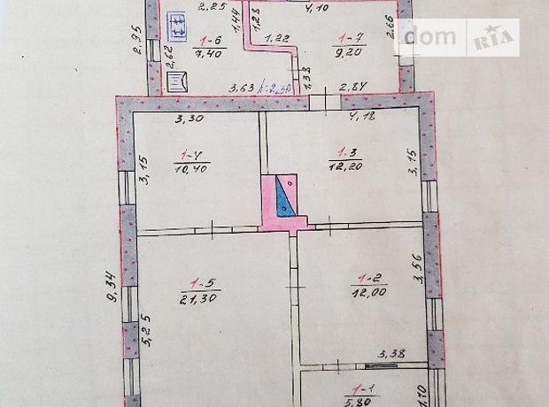 одноэтажный дом с верандой, 78 кв. м, кирпич. Продажа в Хорошево (Харьковская обл.) фото 1