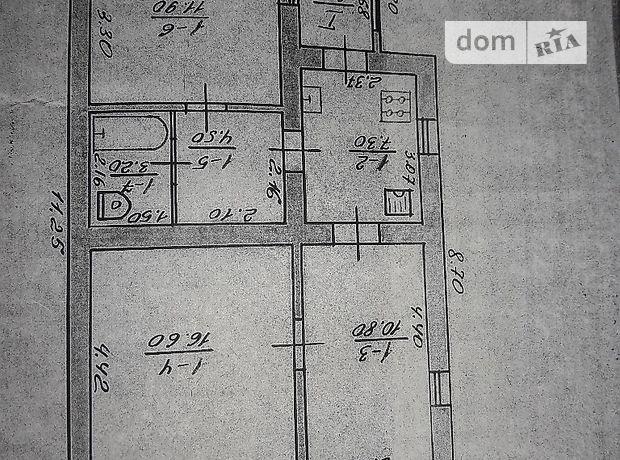одноэтажный дом, 53 кв. м, кирпич. Продажа в Пивденном (Харьковская обл.) фото 1