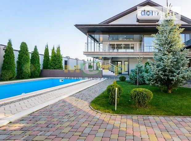 трехэтажный дом с террасой, 596 кв. м, кирпич. Продажа в Родичах (Харьковская обл.) фото 1
