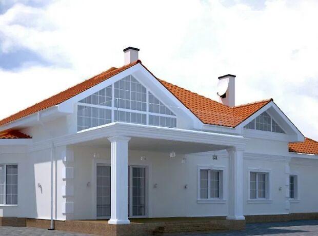 двухэтажный дом с гаражом, 289 кв. м, газобетон. Продажа в Циркунах (Харьковская обл.) фото 1