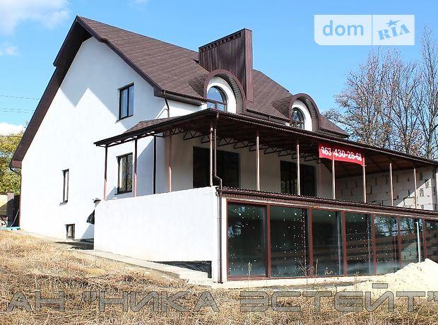 двухэтажный дом с террасой, 280 кв. м, газобетон. Продажа в Харькове фото 1