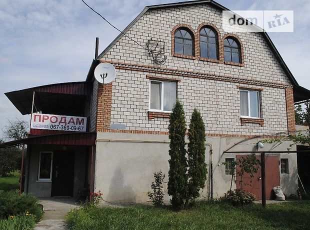 двухэтажный дом с садом, 206 кв. м, кирпич. Продажа в Давыдковцах (Хмельницкая обл.) фото 1