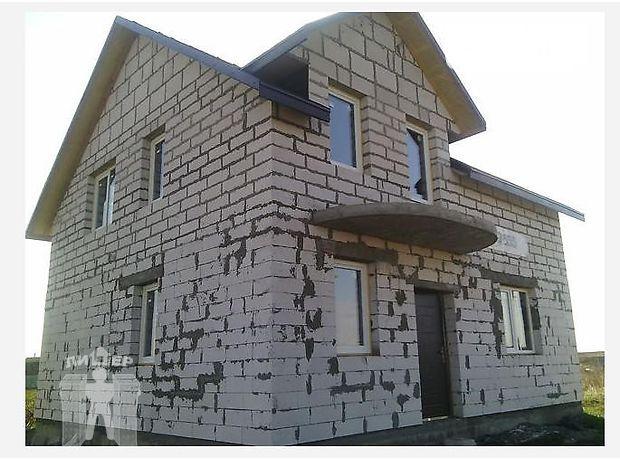 двухэтажный дом, 129 кв. м, пеноблок. Продажа в Книжковцы (Хмельницкая обл.) фото 1