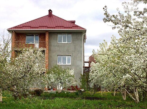 трехэтажный дом с садом, 267 кв. м, кирпич. Продажа в Хмельницком район Лезневое фото 1