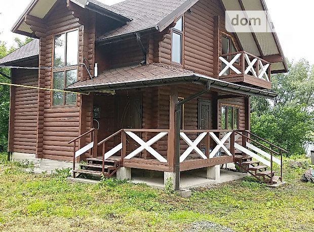 двухэтажный дом с террасой, 103 кв. м, брус. Продажа в Педосах (Хмельницкая обл.) фото 1
