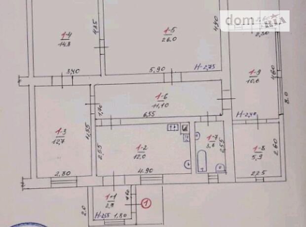 одноповерховий будинок, 99.6 кв. м, цегла. Продаж в Іллінцях, район Іллінці фото 1