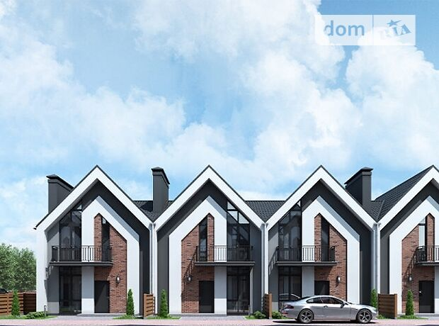 двухэтажный дом с мансардой, 110 кв. м, кирпич. Продажа в Ирпене район Ирпень фото 1