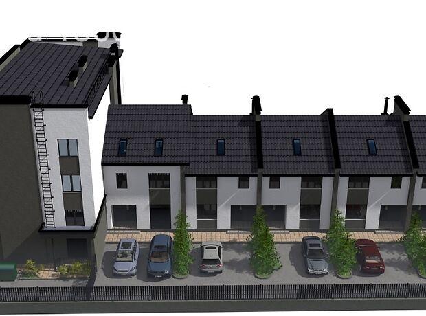 трехэтажный дом с террасой, 144 кв. м, кирпич. Продажа в Ирпене фото 1