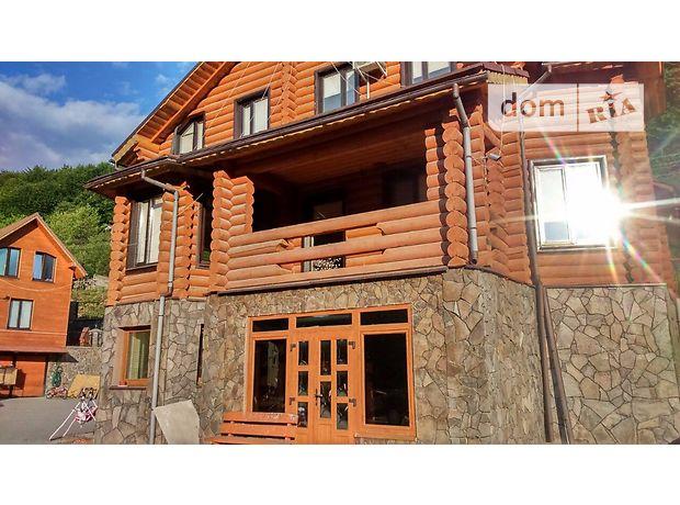 трехэтажный дом с камином, 354 кв. м, сруб. Продажа в Осии (Закарпатская обл.) фото 1