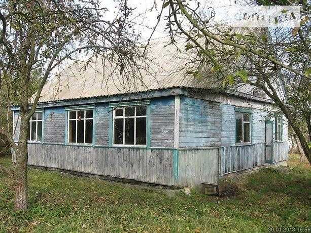 одноповерховий будинок з садом, 107 кв. м, дерево та цегла. Продаж в Kyxapях (Київська обл.) фото 1