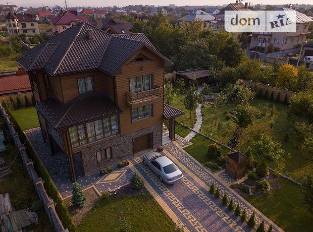 трехэтажный дом с камином, 332 кв. м, дерево и кирпич. Продажа в Никитинцах (Ивано-Франковская обл.) фото 1