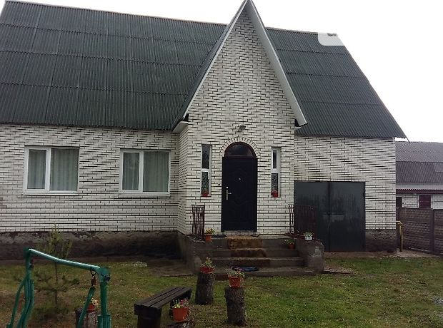 двухэтажный дом с подвалом, 150 кв. м, кирпич. Продажа в Глубочице (Житомирская обл.) фото 1