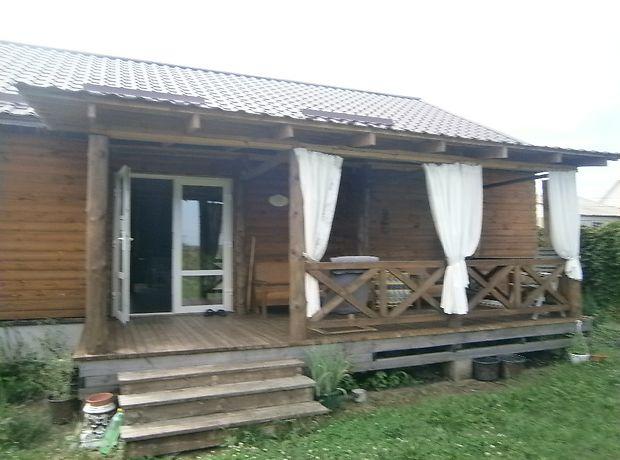 одноэтажный дом с садом, 125 кв. м, брус. Продажа в Клитчине (Житомирская обл.) фото 1