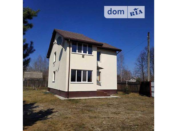 двухэтажный дом, 90 кв. м, кирпич. Продажа в Межречье (Житомирская обл.) фото 1