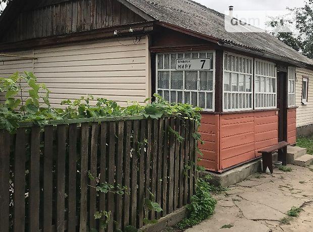 одноповерховий будинок з гаражем, 70 кв. м, дерево та цегла. Продаж в Пісках (Житомирська обл.) фото 1