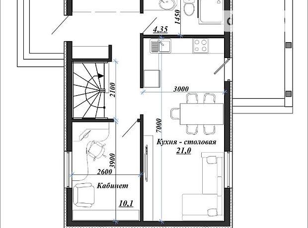 Продажа дома, 98м², Житомир, р‑н.Центр, Елены Пчелки улица
