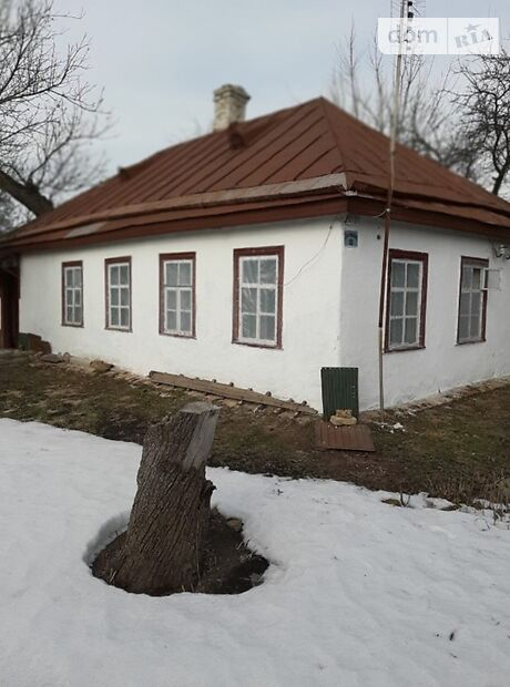 одноэтажный дом с садом, 65 кв. м, глинобитный. Продажа в Кагарлыке район Кагарлык фото 1